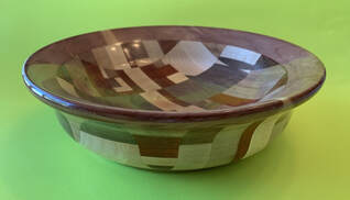 Hard Woods Mosaic Bowl